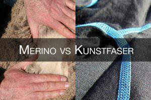 Merino wolle oder kunstfaser Funktionunterwäsche im Test