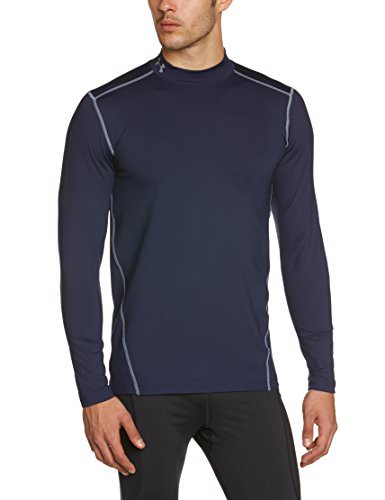 under armour herren langarm shirt cg compression evo mock. Black Bedroom Furniture Sets. Home Design Ideas