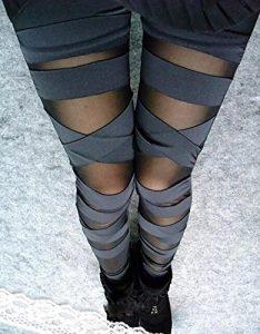 Sexy Sport Leggings mit Ausschnitten Funktionunterwäsche im Test